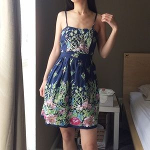 Angie 100% Cotton Printed Floral Dress
